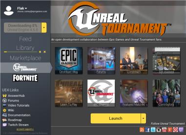 Unreal Tournament » Unreal Tournament: UT on the Launcher