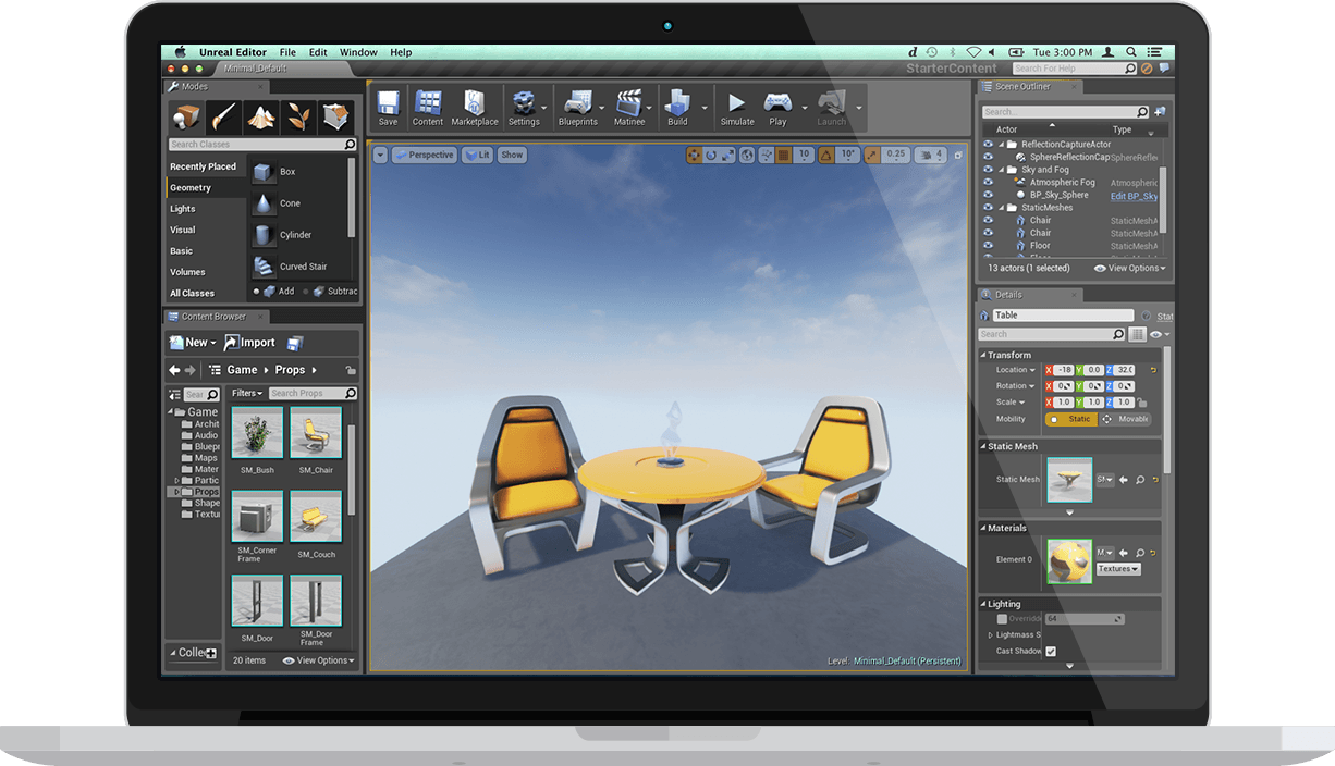 Unreal Engine 4 Tools
