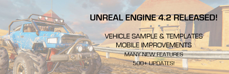 Unreal Engine 4.2 Release