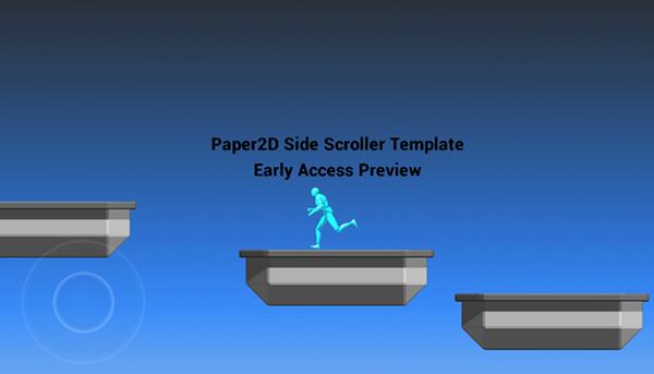 Paper2D Scroller Template