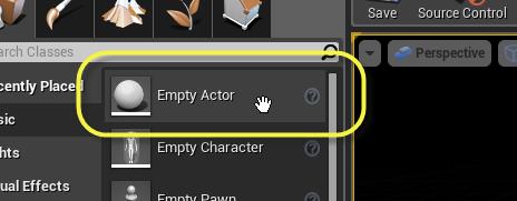 Empty Actor