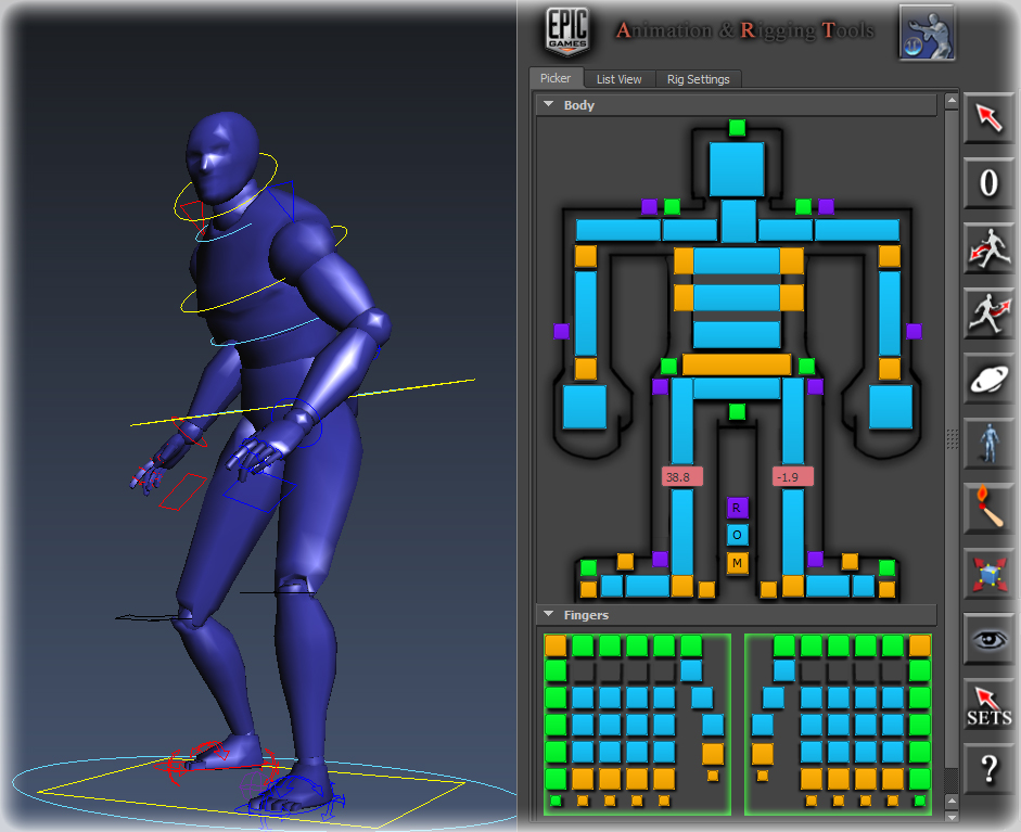 Character Design Animation Toolkit : Animation and rigging toolkit in ue