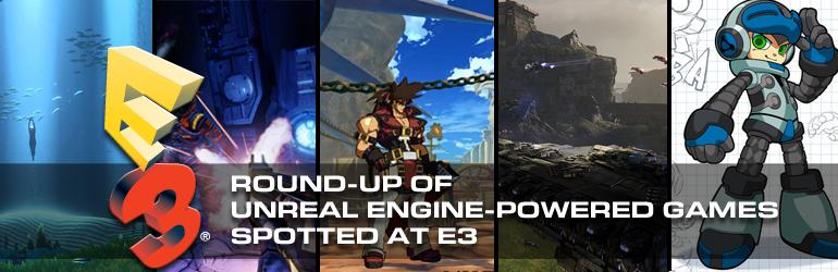 Unreal Sightings at E3 2014