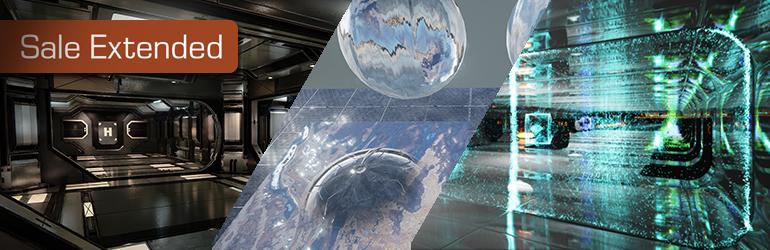 Marketplace Sale: Sci-fi, materials, & particles ahoy!
