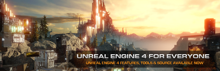 Unreal Engine 4 Banner
